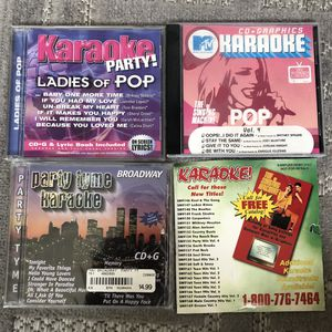 Kareoke cd bundle for Sale in Fullerton, CA