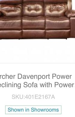 Power Recliner Sofa for Sale in O'Fallon,  MO