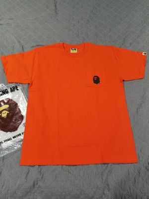 BAPE ape head orange pocket tee for Sale in Chicago, IL