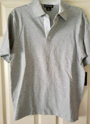 Brand new men's Medium Michael Kors collar shirt for Sale in San Antonio, TX