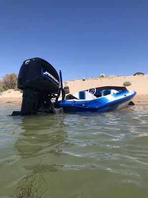 Baker Modvp Tunnel Boat 300 Drag Mercury Outboard for Sale in Huntington Beach, CA