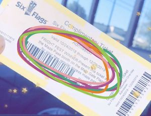 2-Six Flags tickets for Sale in Lompoc, CA