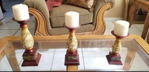 Candle Holders (set of 3) for Sale in Cutler Bay, FL