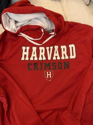 Harvard hoodie sweatshirt men's size large for Sale in Weston, FL
