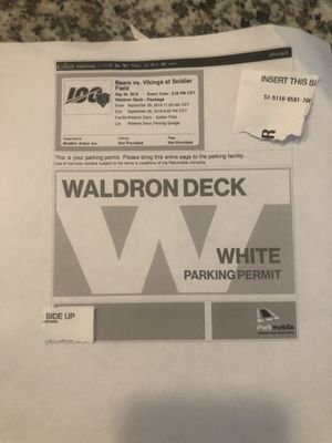 WALDRON DECK BEARS VS VIKINGS for Sale in Chicago, IL