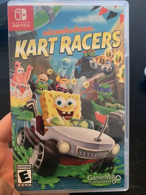 Kart racers Nickelodeon (Nintendo switch) for Sale in Homestead, FL