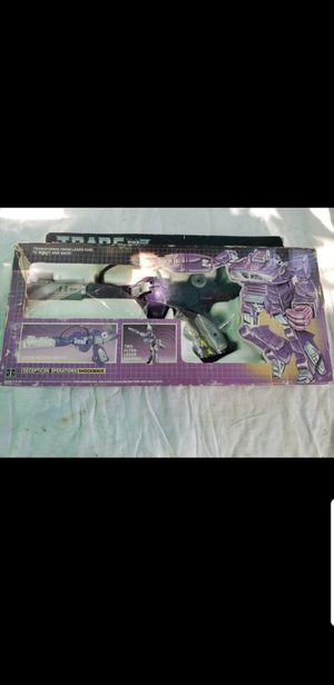 1984 Transformers Shockwave Original USE for Sale in Miami, FL
