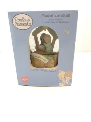 """Precious Moments musical waterball plays the tune """"O little town of Bethlehem"""". for Sale in Fresno, CA"""