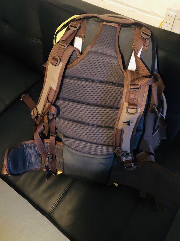 Eastern mountain sport hiking travel back pack