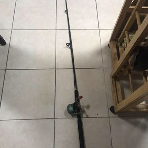 FISHING POLE WITH PENN REEL for Sale in Tampa, FL