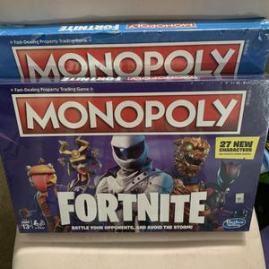 Fortnite Monopoly Game Board for Sale in San Diego, CA
