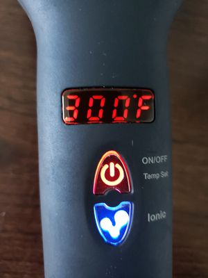 TEC.BEAN~MIROPURE~2 IN 1 MCH HEATING+IONIC HAIR STRAIGHTENER. Model 1699B for Sale in Bethany, OK