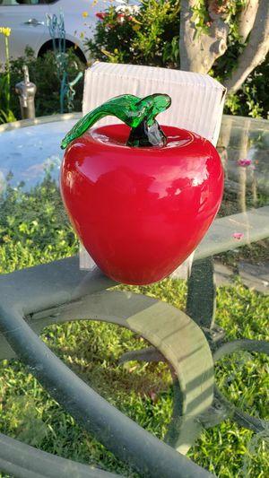 Glass apple for Sale in Santa Ana, CA