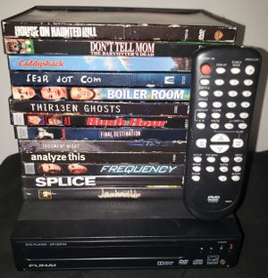 DVD Player with DVDs for Sale in Zephyrhills, FL