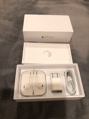 iPhone 6 box and acessories for Sale in Seattle, WA