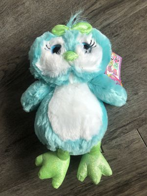 Kids plush toy owl for Sale in Tampa, FL
