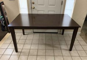 "New Brown Mahogany Color Wood Kitchen Dining Table 59"" x 36"" x 30"" T for Sale in Elk Grove, CA"