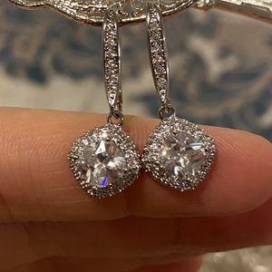 Silver Shiny Earrings for Sale in Las Vegas, NV