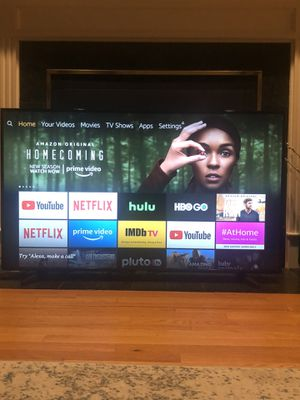 """Samsung Smart TV: Brand New! Used for 1 month! 58"""" Class - LED - 7 Series - 2160p - Smart - 4K UHD TV with HDR for Sale in Boston, MA"""
