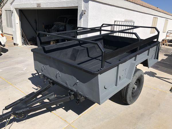 Custom camping/overland trailers