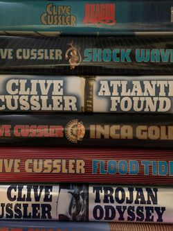 Lot Of Clive Cussler Hardcover Books for Sale in Cleveland,  OH