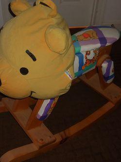 Winnie The Pooh Wooden Rocket for Sale in Chandler,  AZ