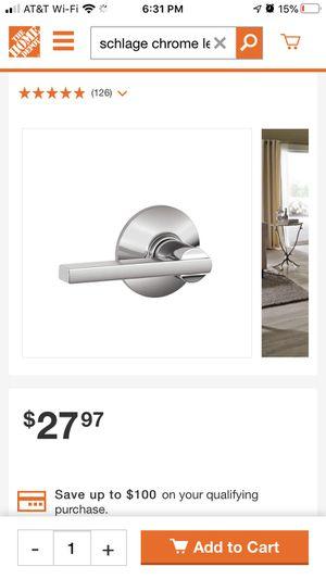 Schlage door levers / knobs for Sale in Portland, OR
