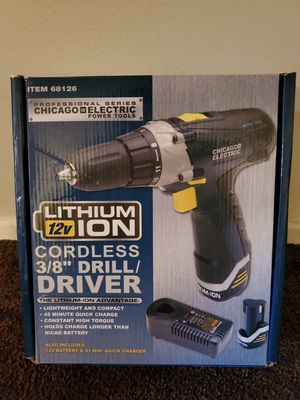 Cordless Drill/Driver for Sale in Hawthorne, CA