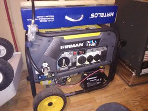 Duel Fuel generator for Sale in Creswell, OR