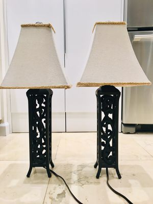 Lamp table , for Sale in Miami, FL