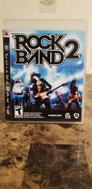 Playstation PS3 ROCK BAND 2 for Sale in Florissant, MO