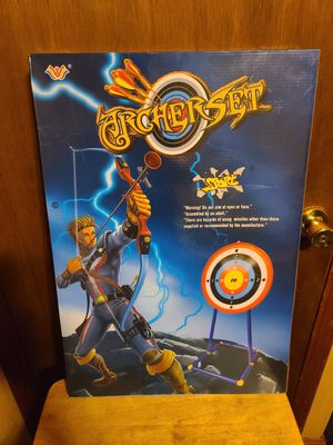 Best Choice Products Kids Toy Archery Set w/ Bow, Arrows, Bullseye Target for Sale in Columbus, OH