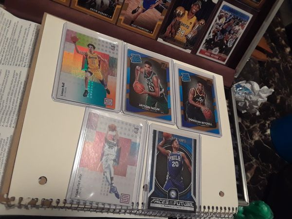 NBA FANS, DONT MISS THIS RARE SALE..2017/2018 Star Rookie cards, Memorabilia cards and more.