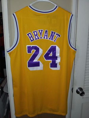 New!!! Mens XXL Kobe Bryant Los Angeles Lakers Jersey New Stitched $50. Ships +$3. Pick up in West Covina for Sale in West Covina, CA