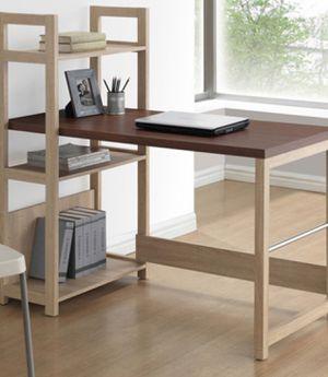 New !!, Writing desk, student desk, study desk , laptop desk, hypercube geometric computer desk, 4 shelf storage desk( small damage on top board) for Sale in Phoenix, AZ