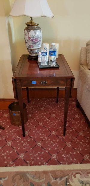 Antique drop leaf side table for Sale in Elizabeth, NJ