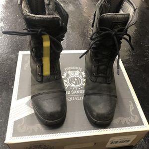 Roland Sands Design RSD Womens Cajon Boots (Black, 7.5) for Sale in Huntington Beach, CA