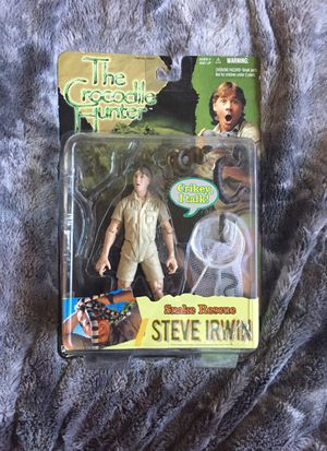 Collectible Steve Irwin action figure for Sale in Los Angeles, CA