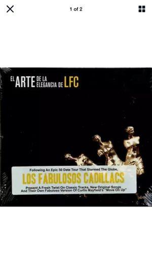 35 CD's El Arte De La Elegancia De LFC Los Fabuloso Cadillacs (new, sealed) for Sale in Escondido, CA