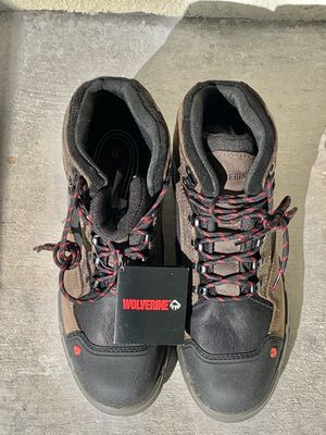 Never Used-39% savings-Wolverine Men's Work Boots size 12W- Legend 6 inch Waterproof Composite Toe for Sale in Jupiter, FL