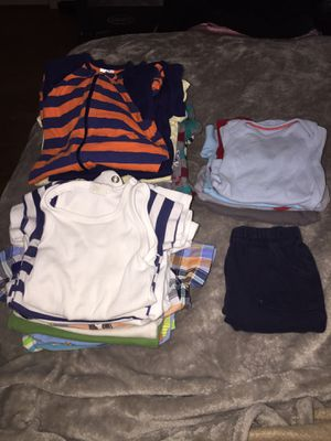 Lot of 0-3months boy clothes- Must go today! $20!! for Sale in Alexandria, VA