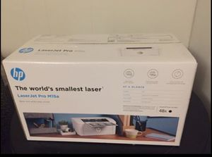 HP LaserJet Pro M15a Compact Laser Printer Brand New. Unopened for Sale in Holton, KS