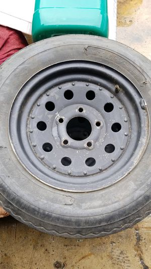 """13"""" Trailer rims and tires for Sale in Los Angeles, CA"""