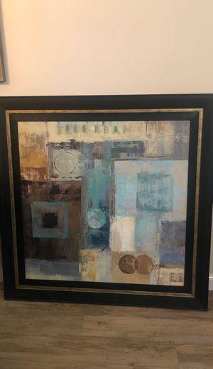 Z Gallerie 44x44 framed art for Sale in Jupiter, FL