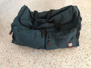Wilson duffle gear bag for Sale in Clearwater, FL