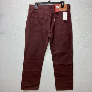Levi's 514 straight 33x30 burgundy jeans for Sale in Houston, TX