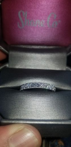 14k White gold wedding ring for Sale in Aurora,  CO