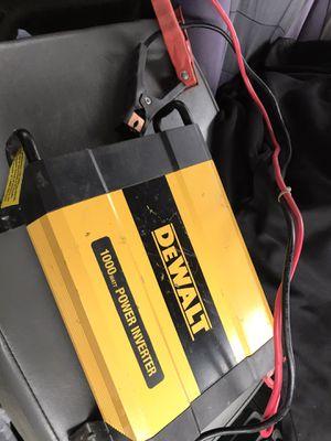 DEWALT 1000 watt power inverter for Sale in Plano, TX