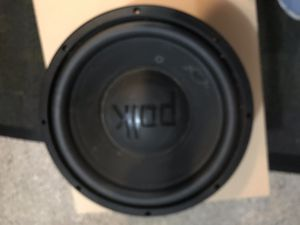 Polk audio 12 inch sub woofer for Sale in New Rochelle, NY