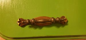 6 Vintage Antique Dresser Pulls - Antique Brass for Sale in Jupiter, FL